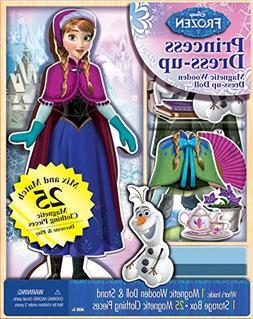 Bendon 06703 Disney Frozen Anna 25-Piece Wooden Magnetic Dol