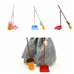 1:12 Mini Doll House Accessory Mini Broom waste shovel for D