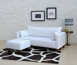 1/6  Scale doll house modern Sofa with Ottoman, suitable for