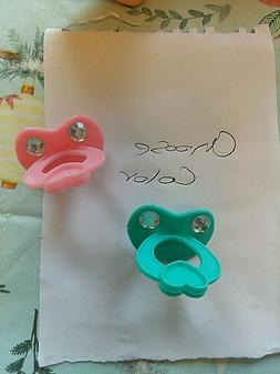 1 PACIFIER  FOR BABY ALIVE SWEET TEARS, SWEET SPOONFULS OR G