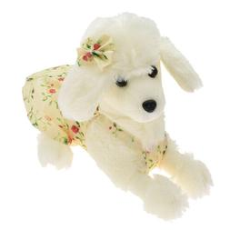 1 pc plush soft puppy white doll