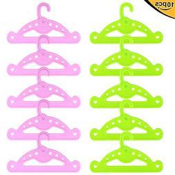 ZITA ELEMENT 10 Doll Hangers for American Girl Doll/Baby Ali