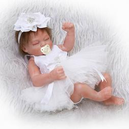 10'' Newborn Dolls Silicone Full Body Reborn Baby Doll Lifel