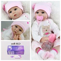 """10"""" Bath Realistic Reborn Baby Dolls Full Body Vinyl Silicon"""