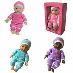 11-Inch Soft Body Baby Doll in Gift Box Collectibles Kids To