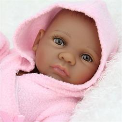 Baby 11'' Real Looking African American Baby Doll Black Girl
