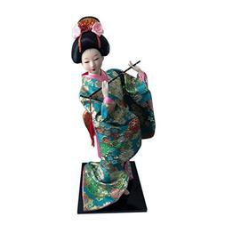 """JG.Betty 12"""" 30cm Japanese Folk Kimono Geisha Doll Maiko D"""