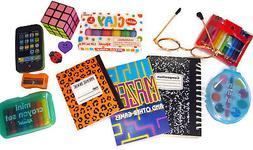 """13 Piece School Supply Set for 18"""" Dolls by Doll Clothes Sew"""