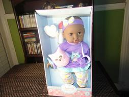 """My Sweet Love 13"""" Baby Doll & Accessories, 4 pieces - New"""