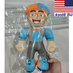 13 inch Blippi Plush Figure Toy Soft Stuffed Doll for Kids G