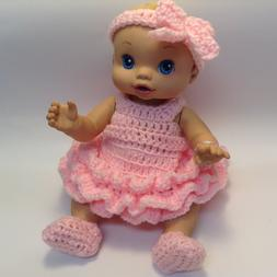 13 inch doll clothes.Fits Baby Alive Doll and similar sized
