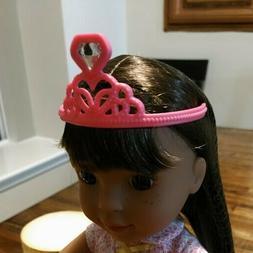 14 inch DOLL CLOTHES Pink Tiara ORIGINAL ASHLYN WELLIE WISHE