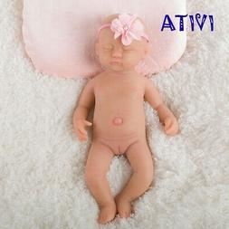 IVITA 15'' Full Silicone Reborn Baby Doll 1800g  Eyes-closed