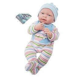 15'' JC Toys La Newborn Real Boy Baby Doll #18057 New, NRFB