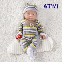 IVITA 16'' Full Body Silicone Reborn Doll Realistic Baby Gir