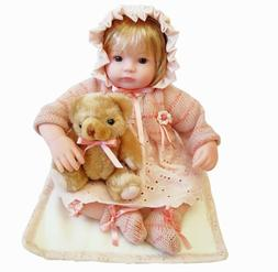 16-Inch Baby Dolls Pink Lovely Girl for Children Vinyl with