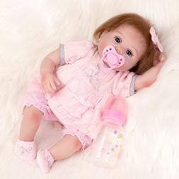 "16"" Reborn Baby Dolls Newborn Girl Doll Realistic Handmade V"