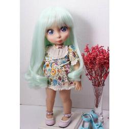 16inch Girl Doll Light Green Hair Wig for Sharon Dolls for 3