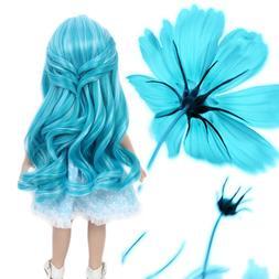 "17'' Costume Doll Wig Fit 18"" American Girl Doll OG Gotz J"