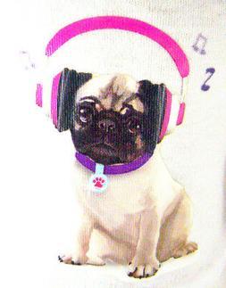 "For 18"" American Girl Doll Clothes Pug Dog Doggy T-Shirt QUA"