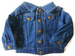 "For 18"" American Girl or Boy Logan Doll Clothes Denim Jean J"