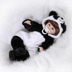 "18"" Cheap Newborn Lifelike Silicone Real Life Baby Dolls Gir"