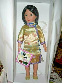 """CARPATINA 18"""" Doll 2008 ANA MING *MINT COND*  W/ Box *EXCELL"""
