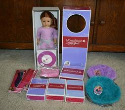 """American Girl 18"""" Doll #61 Red Hair, Green Eyes, Light Skin"""