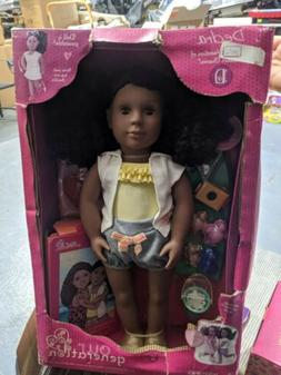 Our Generation 18 Doll DEDRA with Beach Vacation Accessories