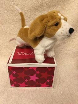 """AMERICAN GIRL 18"""" DOLL KIT'S DOG GRACE NEW IN THE BOX RE"""