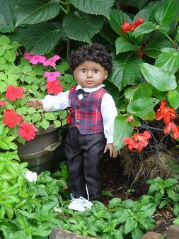 American Fashion World ~ 18 Inch Boy Doll ~ Isaac ~ Medium S