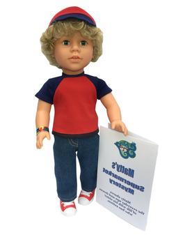 18 inch boy doll - My Sibling - Matty