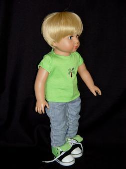 American Fashion World ~ 18 Inch Boy Friend Doll ~ Caden ~ O