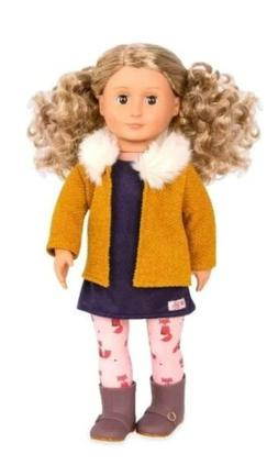 """18"""" Inch Doll Our Generation Regular Doll Florence, Brown"""