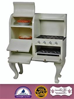 The Queen's Treasures 1930's Style Stove, Kitchen Furniture