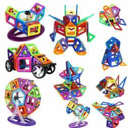 198 PCS Large Magnetic Building Toys Ferris Wheel Boys Girls