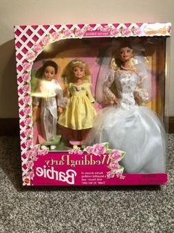 1994 Wedding Party Barbie Doll Set with Stacie & Todd 13557