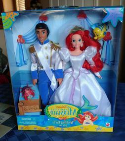 Disney 1997 The Little Mermaid Wedding Party Gift Set Eric &