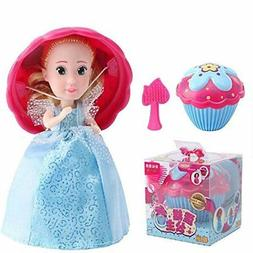 1Pack Cupcake Surprise Scented Princess Doll,Magic Gift Toys