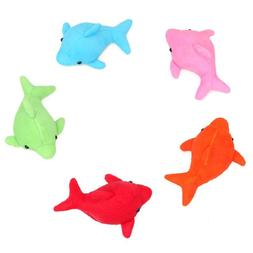 1PC Novelty Absorbs Water Dolphin Plush <font><b>Doll</b></f
