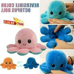 1x octopus doll emotional face changing double