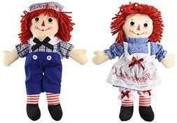 Aurora Bundle of 2 Dolls - Large 16'' Classic Raggedy Ann an