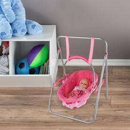 2 in 1 Baby Doll Swing Carrier Fits 13 Inch Dolls Stuffed An