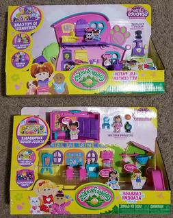 2 Cabbage Patch Kids Little Sprouts Cabbage Academy & Vet Ce
