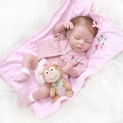 """20"""" Full Silicone Body Baby Boy Doll Anatomically Correct Re"""