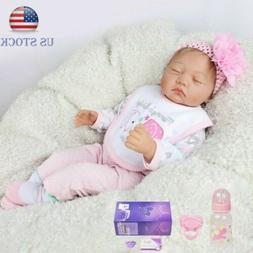 IVITA 20'' Full Silicone Reborn Baby Realistic Girl Weight 4