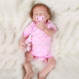 "20"" Handmade Reborn Baby Toy Newborn Lifelike Silicone Vinyl"