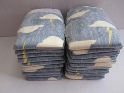 20 HONEST Diapers NEWBORN Baby Reborn Doll Thunderclouds Spr