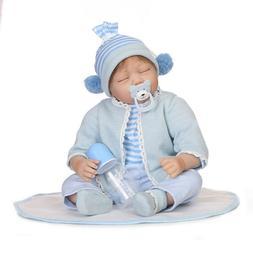 """20"""" Soft Silicone Reborn Doll Baby Boy Girl Doll Reborn for"""