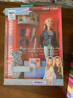 "Mattel 2002 Mary Kate And Ashley ""Hair Curl And Style"" Mary-"